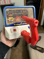 Vintage Helm Toy WWF Superstars Wrestling Arcade Game Target Shooting Rare Hogan