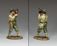 KING AND COUNTRY D Day U.S. Army Movie Cameraman DD244