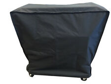 Trinity Amber-Log Wooden Slat Country Cooler Cover
