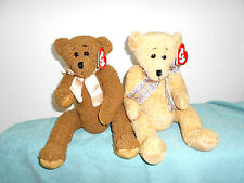 "TY CLASSIC BEARS SALLY WINEY ""ELEANOR AND THEODORE""/18' FULLY JOINTED /MWMT"