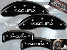 """2001-2003 """"Acura"""" CL Type S Base Front Rear Black MGP Brake Disc Caliper Covers"""