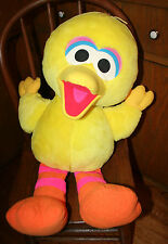 "1996 Big Bird Sesame Street Tyco Stuffed Plush 27"" Mint condition LARGE!"