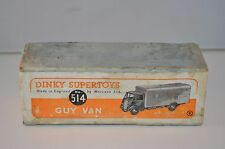 Dinky Toys 514 Guy Slumberland  empty all original complete box