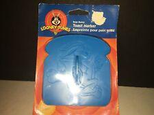 New listing 1997 Vintage Wilton Looney Tunes Bugs Bunny Toast Marker
