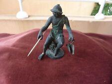 statuette à l'antique bronze patine verte