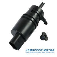 Windshield Washer Pump For AUDI A3 A4 A6 TT VW Jetta CC Passat Phaeton W/Grommet