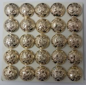 Genuine British Army Issue 25 Argyll & Sutherland Highlanders Dress Buttons 40L