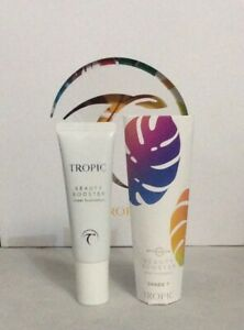 Tropic Beauty Booster Sheer Foundation SPF35 Shade 7 NEW 15ml