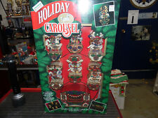 Mr Christmas 1992 Holiday Carousel New Vintage Circus Horse Plays And Lights !
