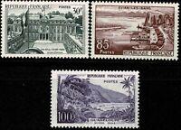 FRANCE 1959 SÉRIE TOURISTIQUE YT n° 1192 à 1194 Neufs  ★★ luxe / MNH