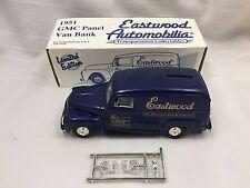 EASTWOOD AUTOMOBILIA TRANSPORTATION COLLECTABLES - 1951 GMC PANEL VAN BANK