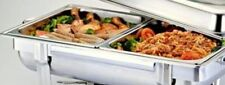 1/2 Size Chafer Pan 4 Pack Catering Hotel Chafing Dish Half Pans