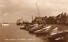 Yarmouth I.O.W. the Quay Ferry unused RP pc Judges 23794