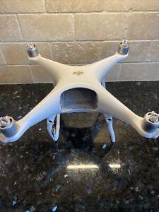 DJI Phantom 4 Pro Drone Only - Flies But Has Sensor Error Foam Case