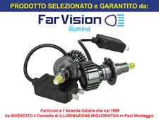 Kit Full Led super Canbus H7 38W Reale 12V 24V Luce 360 Gradi x Faro Lenticolare