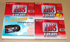 3 x SONY Video Hi8 / Digital8 Camcorder Kassette P5-60HMP3 = 9,90€/Stück