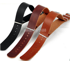 Hot Multi-dimensions Leather Wrist Watch Band Strap Stainless Steel Pin Buckle