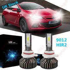 Super White HIR2 9012 CANBUS Error Free LED Headlight Bulb Fits Vaux Astra J GTC