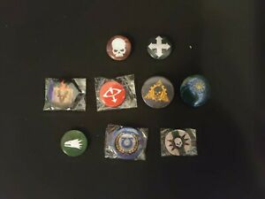 Warhammer Badges x9
