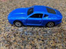 Majorette #229 Aston Martin DB7 Blue  1/60 Scale DIecast mint