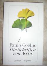 PAULO COELHO - DIE SCHRIFTEN VON ACCRA - ROMAN DIOGENES - IN TEDESCO 2013 (XR)