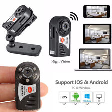 Mini Wireless Network Wifi IP Camera Security Nanny Spy Hidden Night Vision Cam