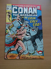 MARVEL: CONAN THE BARBARIAN #3, LOW DIST., BARRY SMITH'S ART, 1971, FN/VF (7.0)!