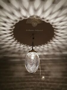 Moroccan pendant oriental brass hanging lamp Ceiling light chandelier handmade