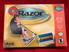 Rare Razor Freestyle Scooter Sealed For N64 Official Nintendo 64
