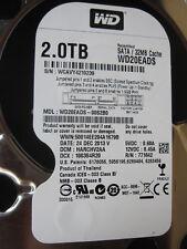 Western Digital 2 TB WD20EADS-00S2B0  | DCM: HARCHV2AA | 24DEC2013 | PCB OK