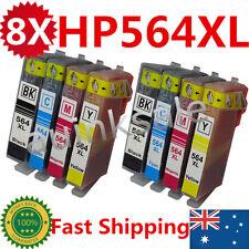 8x HP 564XL Ink Cartridges For HP Photosmart 3520 4620 3070 5510 5520 6510 6520