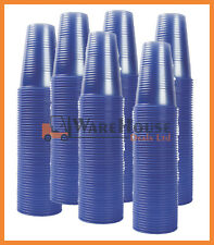 More details for 1000 x blue plastic water cups 7oz , 200ml blue cups blue party cups vending uk