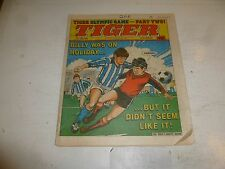 TIGER Comic - Year 1984 - Date 21/07/1984 - UK Paper Comic Inc Olympic Game Page