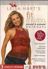 Leisa Hart's Fitmama: Prenatal and Postnatal Workouts (DVD, 2005)