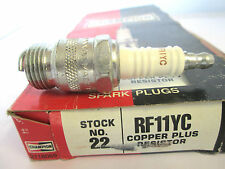 RF11YC CHAMPION RESISTOR COPPER PLUS IGNITION SPARK PLUG # 22 SET OF 8