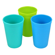 Re-Play Made in the USA 3pk Drinking Cups for Baby and Toddler - Sky Blue, Aqua
