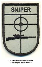 US ARMY DESERT UNIFORM SNIPER PATCH - LE004dcv
