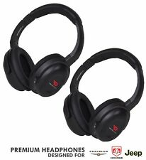 uConnect VES Headphones for Chrysler Dodge & Jeep Car by DRIVE AUDIO (2 PACK)