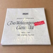 Archiv Produktion Ralph Kirkpatrick Bach Das Wohltemperierte Clavier Mono 2LP