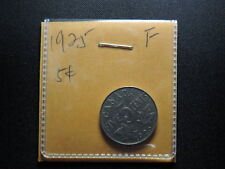 1925 5 Cent Coin Canada King George V Five Cents Key Date Low Mintage F Grade