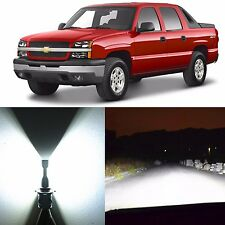Alla Lighting High Beam Headlight 9005LL LED Bulbs for Chevy Avalanche 1500 2005