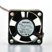 1204KL-01W-B39 5V 0.13A for NMB Two Ball Bearing cooling fan 30*30*10MM 3pin