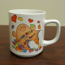 1983 Morgan Human Beans Love Jelly Beans Small Coffee Mug