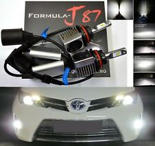 LED Kit S 100W 9007 HB5 6000K White Two Bulbs Head Light Dual High Low Beam Lamp