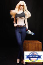 1/6 Scale Women Skinny Jeans Pants with Belts For Phicen VERYCOOL Figure ❶USA❶
