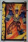 1994 Marvel Comics Press 34x22 Spirit of Vengeance poster 160:Ghost Rider/1990's