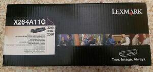 Lexmark X264A11G Genuine toner cartridge  X264 X363 X364 - 3,500 page - unopened