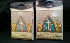 Confirmation 8 Invitations  & 8 Thank You Cards Party Occasion New