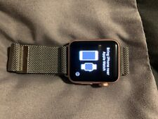 Apple Watch Series 1 38mm Rose Gold with metal magnetic band