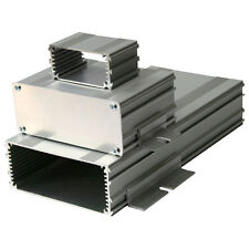 Silver Extruded Aluminium Enclosure For PCB 55x120mm 120x64x30 Case Box Project